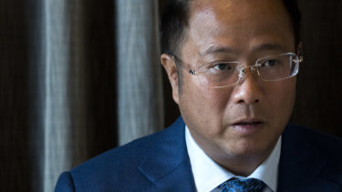 Chinese billionaire Huang Xiangmo.