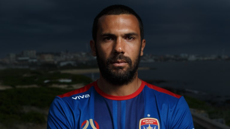 Almost local: Nikolai Topor-Stanley will be the toast of Newcastle if he can help deliver the A-League trophy.