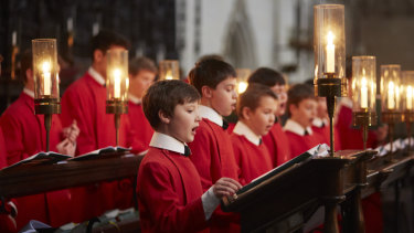 Radiant solos: The Choir of King's College, Cambridge.