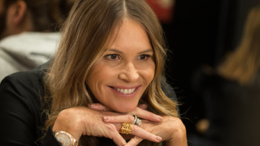 """""""Women are more readily open to communicating with their community"""": Elle Macpherson."""