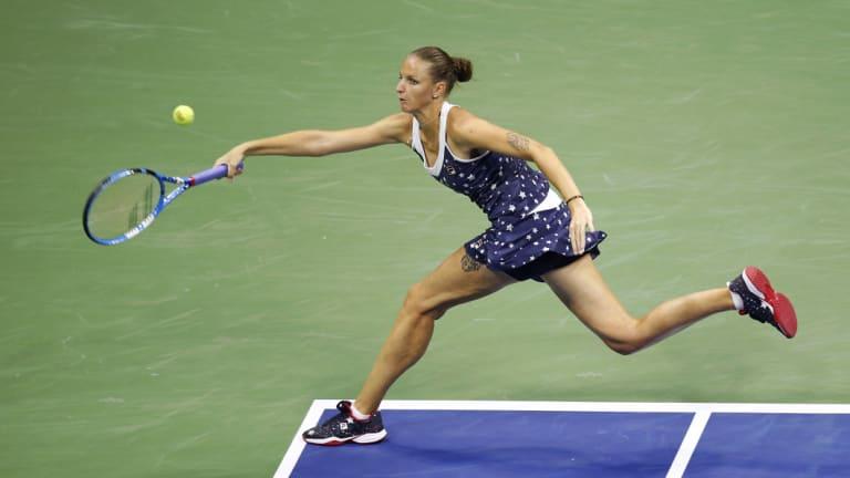 Shut down: Pliskova had a great run, but was no match for Williams.
