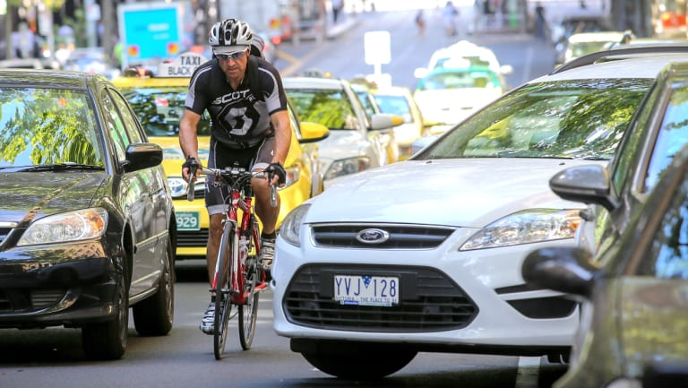 Drivers hitting people, because of how they're driving, is 90 per cent of the problem on our roads.