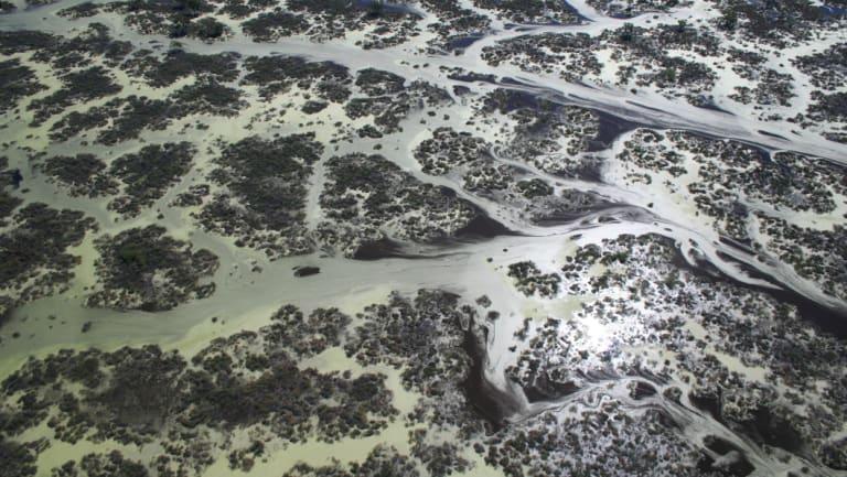 Narran Lakes in the northern Murray-Darling Basin.