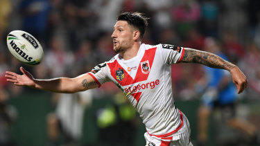 Homesick: Skipper Gareth Widdop wants to leave the Red V.