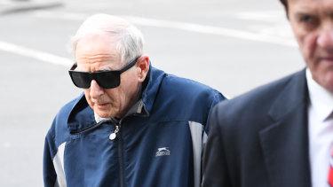 Gerard McNamara outside court in July.