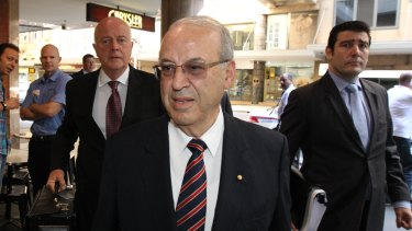 Eddie Obeid on his way an ICAC hearing. Federal politicians have resisted setting up a similar national body.