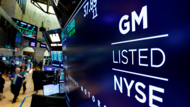 GM bought a 11 per cent stake in the company a fortnight ago.