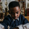 Did you hear about the seven-year-old homeless chess talent? He's now a chess master