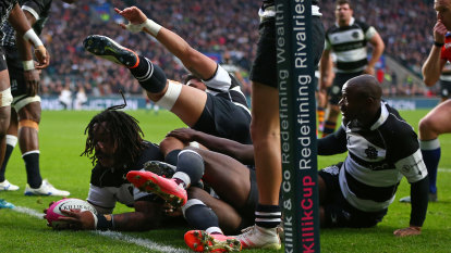 Fiji survive late Barbarians comeback in Twickenham cracker