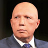 Peter Dutton, the Liberal Party's most senior Queensland cabinet minister, said he backs a target of net zero emissions by 2050.