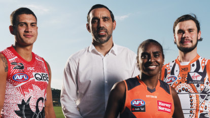 Goodes passes the torch to the AFL's next Indigenous leaders
