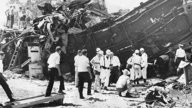 From the Archives, 1969: Southern Aurora train crash kills nine