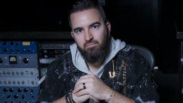 "Australian sound engineer Chris ""Tek"" O'Ryan."