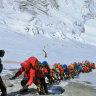 Nepal waits for relatives to claim bodies brought down from Mt Everest