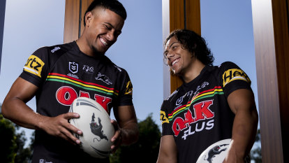 'We've got something special here': Panthers re-sign Luai until 2024