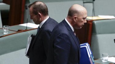 """Backbencher Peter Dutton denies he is Mr Abbott's puppet: """"No, of course not."""""""