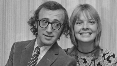 Diane Keaton and Woody Allen in 1970.