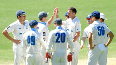 There has been a tightening of training restrictions for the NSW men's cricket team.