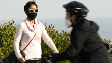 Melburnians have been wearing masks in public for nearly a month.