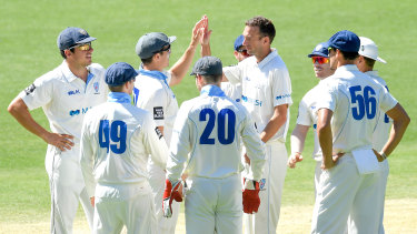 The NSW Blues were set to play their first home match of the Sheffield Shield campaign at the SCG following their opening win over Queensland.