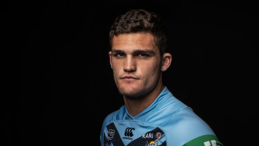 Frontrunner: Despite his form, Nathan Cleary is still in the box seat to retain his NSW jumper, according to coach Brad Fittler.
