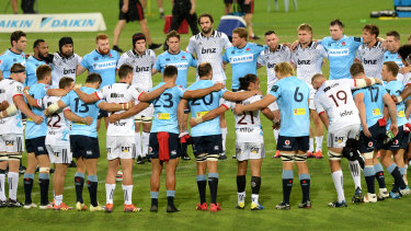 Unity: Both teams observe a moment of silence for the Christchurch terror attack victims at the beginning of the game.