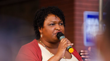 Stacey Abrams, Democratic nominee for governor of Georgia.