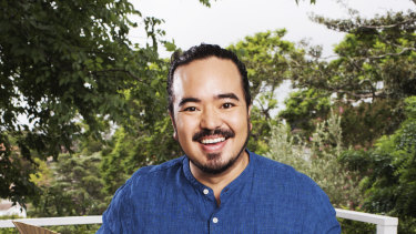 Adam Liaw in Good Food Christmas.