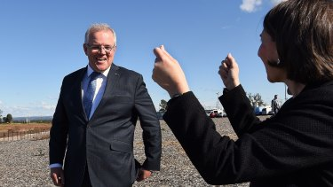 Prime Minister Scott Morrison and NSW Premier Gladys Berejiklian said works would soon start on the airport metro.