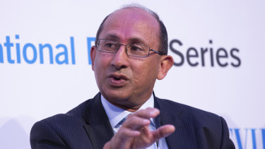 UQ chancellor Peter Varghese, a former diplomat and intelligence chief, has hit back at criticism from Liberal senator James Paterson.