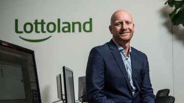 Lottoland CEO Luke Brill.