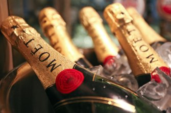 French producers of Moet champagne are among those affected by the Russian laws.