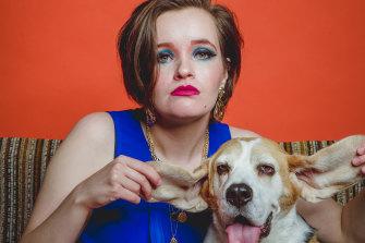 Alice Tovey and Doggo.