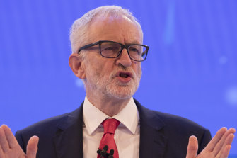 Labour leader Jeremy Corbyn made no apology for wanting to nationalise the rail, water and broadband sectors.
