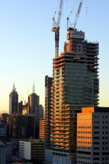 Supply of Melbourne apartments is already slowing.