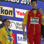 Horton refuses to share podium with Yang after Chinese star wins