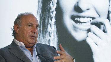 Sir Philip Green has been named as the man who sought a gag order to prevent harassment claims being published.