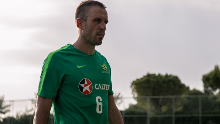 Overseas offer: Matthew Jurman has signed a contract with Al-Ittihad.
