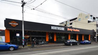 Harley Davidson at 760-770 Sydney Road, Brunswick.