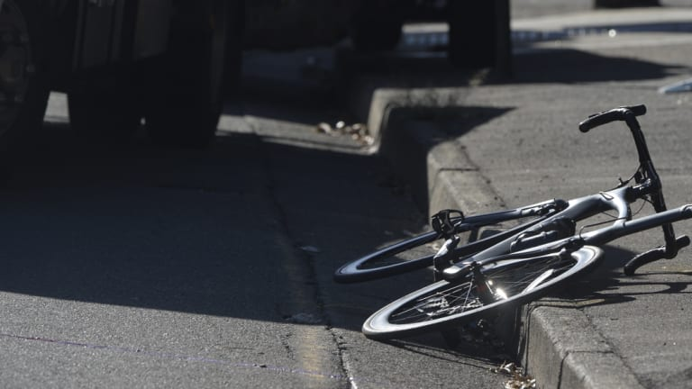 The number of serious injuries among cyclists has also increased.