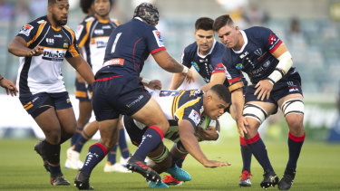Rob Valetini was injured in the Brumbies' round five win over the Waratahs but returns this weekend.