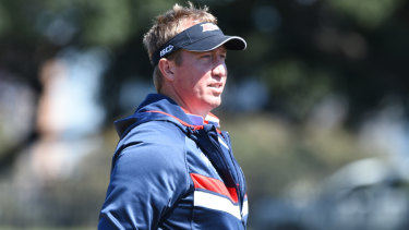 Roosters coach Trent Robinson.