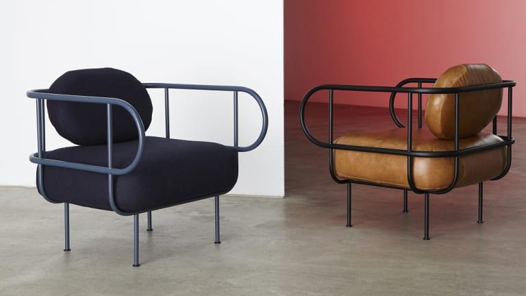 """Tom Skeehan's """"Nave"""" chairs."""