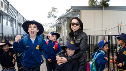 Sydney school '80 per cent demountables' as parents call for urgent upgrade