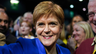 Scotland's First Minister Nicola Sturgeon has renewed calls for independence after a dramatic increase in support for her party.