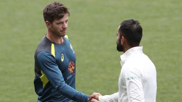 Australian Test team winning in the face of defeat