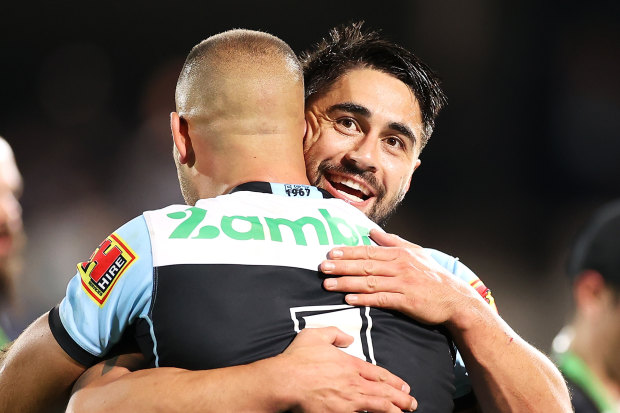 Shaun Johnson has opened up about hearing in-coming Cronulla coach Craig Fitzgibbon telling him he was not in their plans.