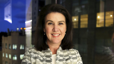 Minister for Superannuantion and Financial Services,  Jane Hume