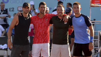 Matic defends Djokovic after tennis event