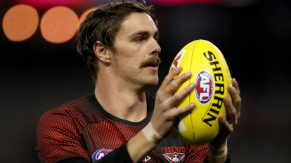 On the mend: Daniher 'really comfortable' at Essendon